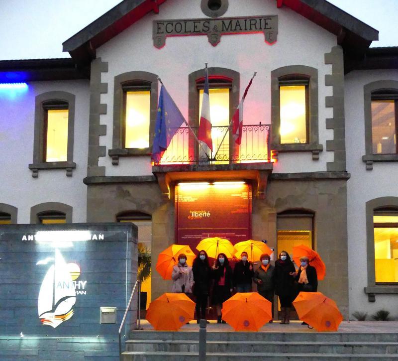 La commune d'Anthy participe à la campagne Orangeons le monde.