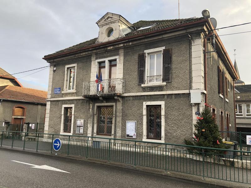 La première mairie de Bellegarde, rue Lamartine.