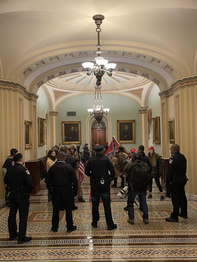 Les travaux du Congrès ont été interrompus plusieurs heures.