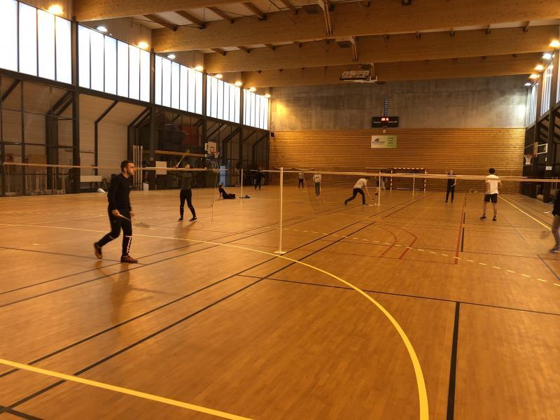 Mercredi matin 13 janvier, le gymnase Antoine-Jacquet avait repris sa configuration normale.