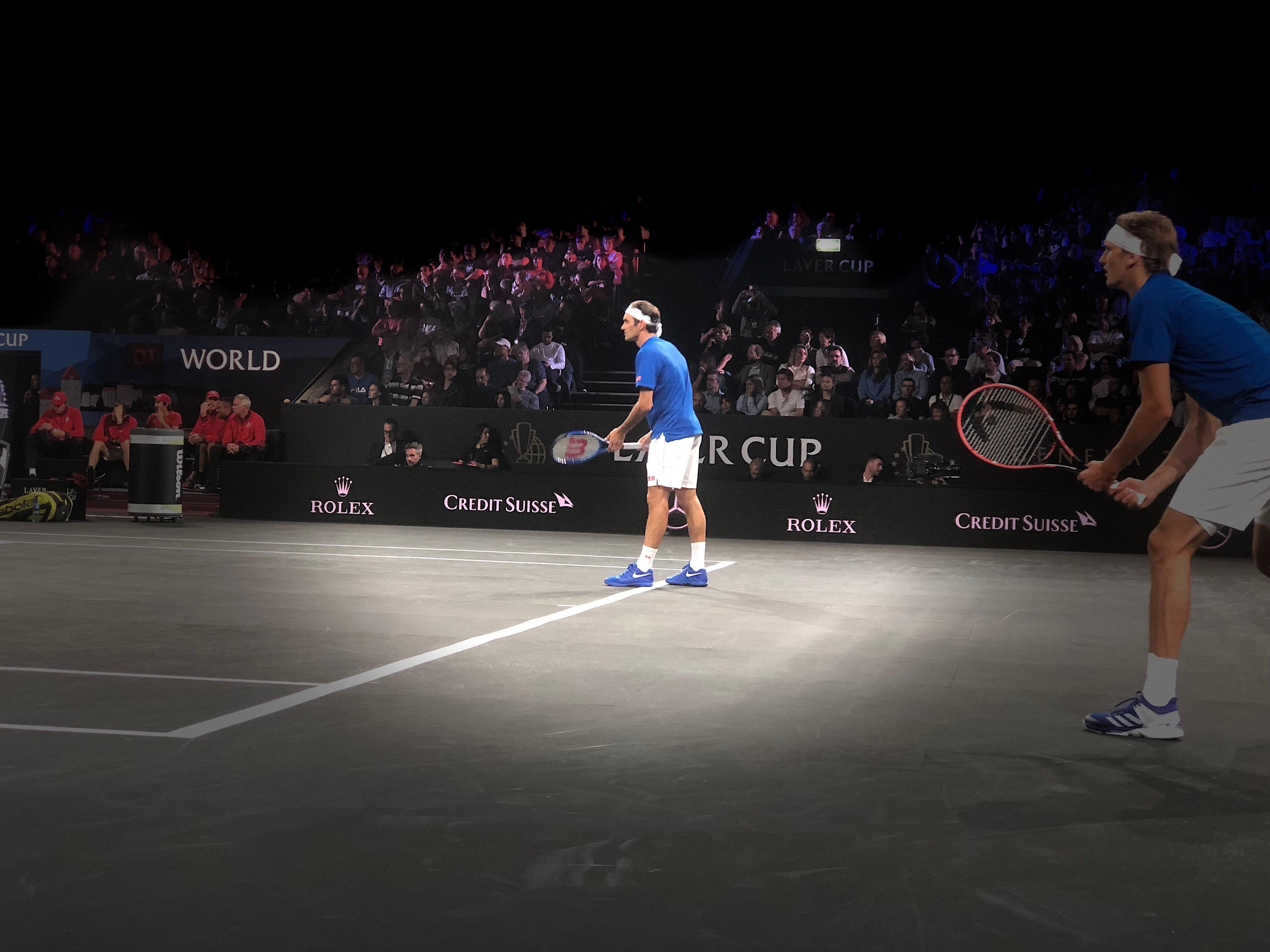 Samedi 21 septembre, Genève va voir jouer Roger Federer en simple face à l'imprévisible Nick Kyrgios, dans le cadre de la Laver Cup. La veille il a joué le double avec Zverev.