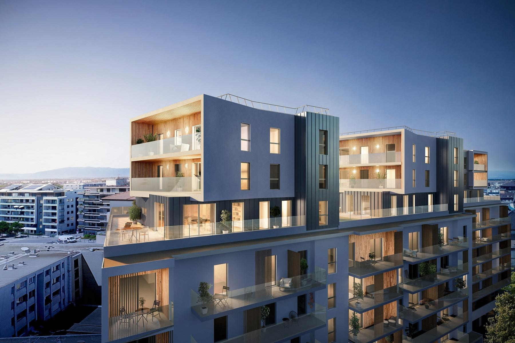 A terme, l'ancienne clinique de Savoie d'Annemasse va laisser place à un immeuble de neuf étages.