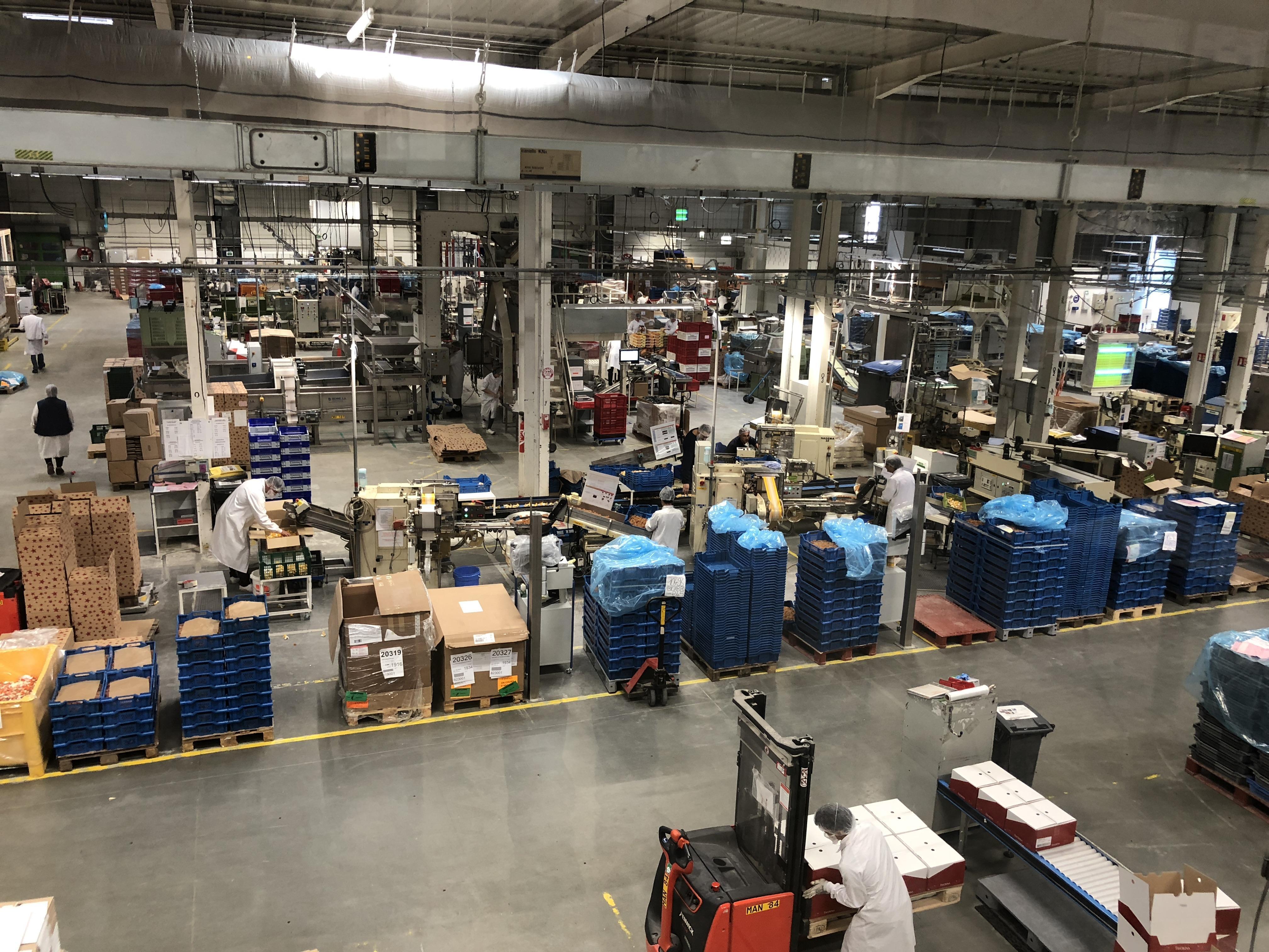 L'usine veut muter vers une production permanente de ses confiseries.