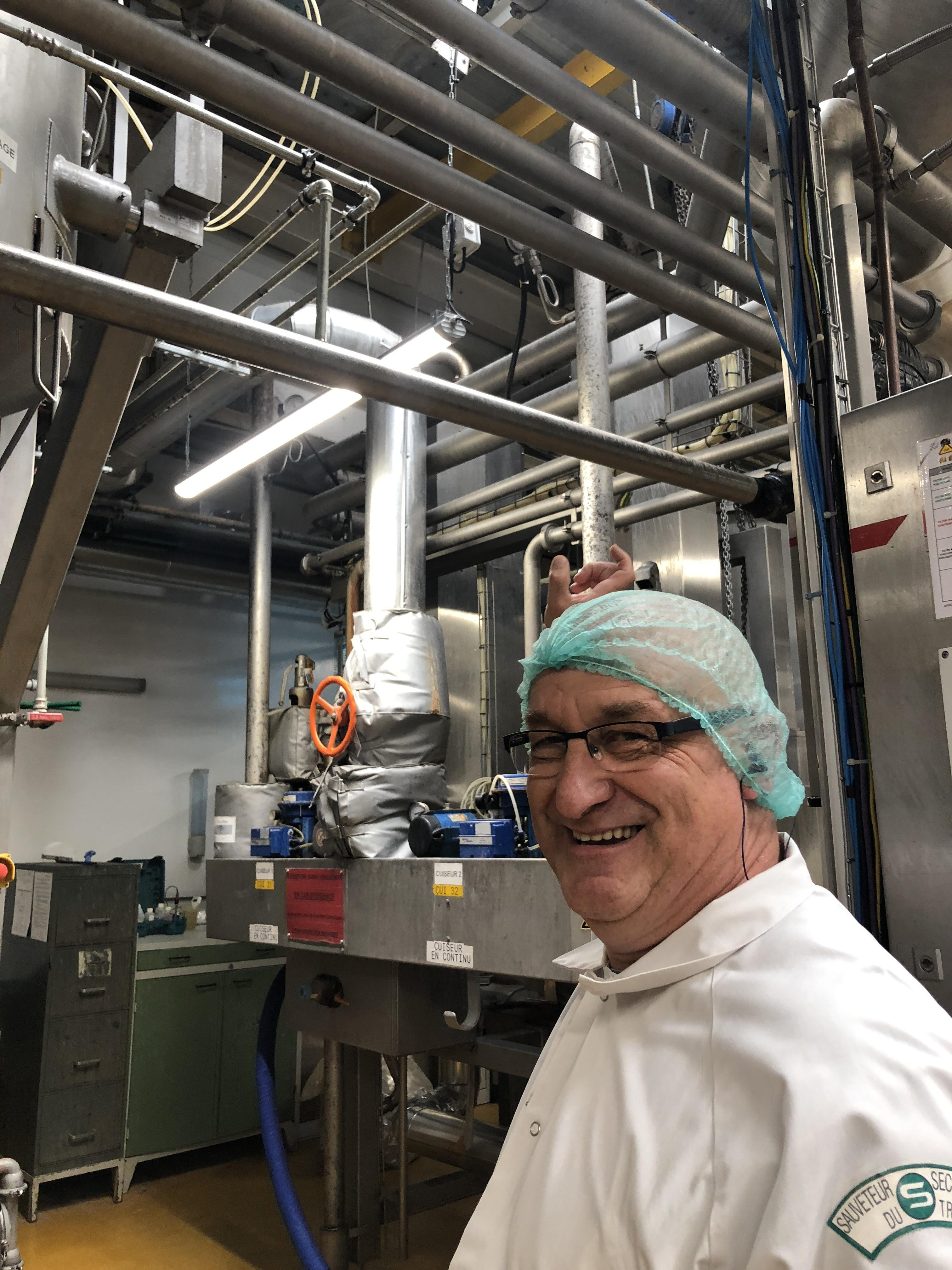 Benoît Malard, technologue, compte 25 années au service de Cémoi.
