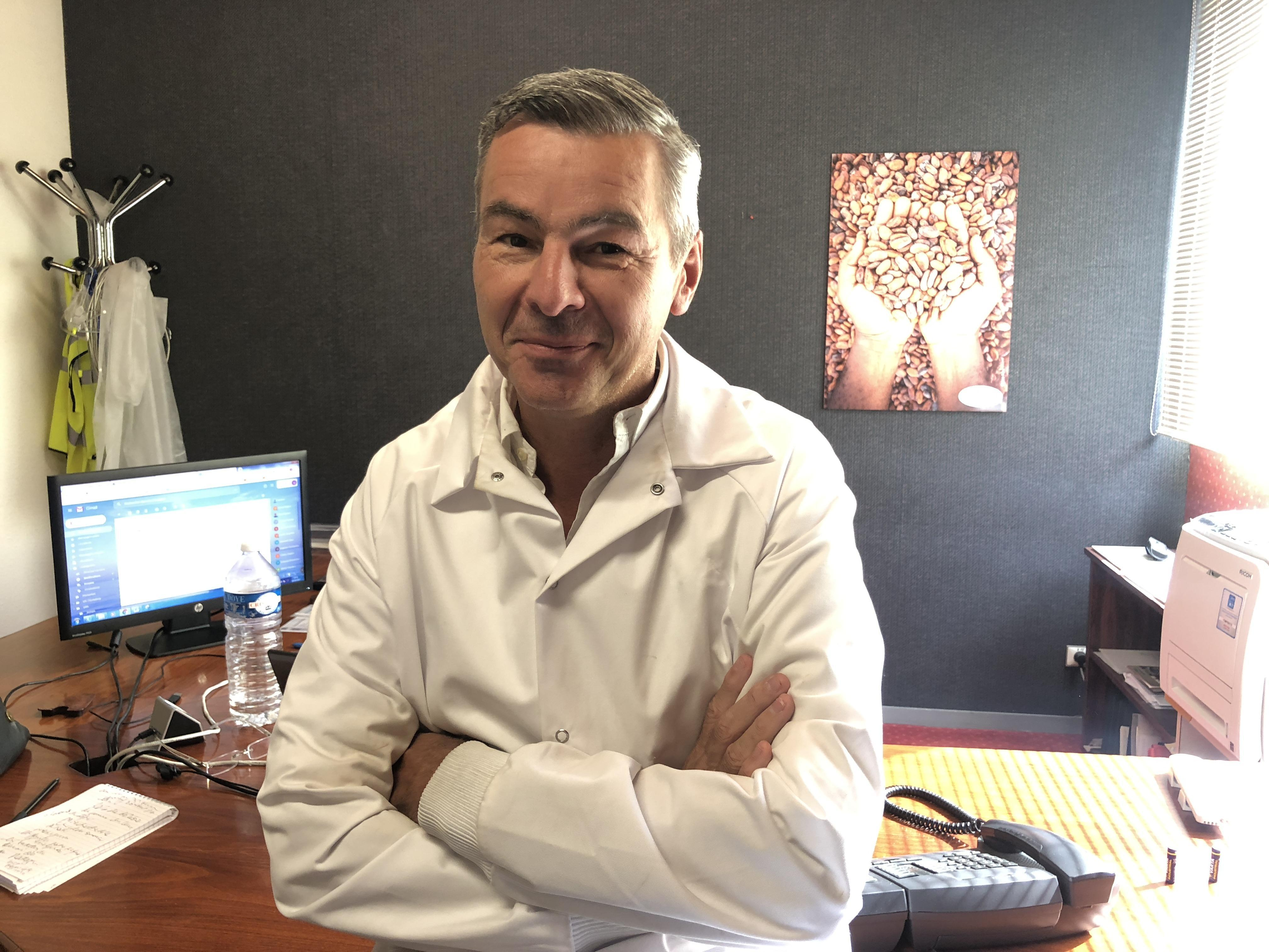 Norbert Brasselet, directeur de l'usine.