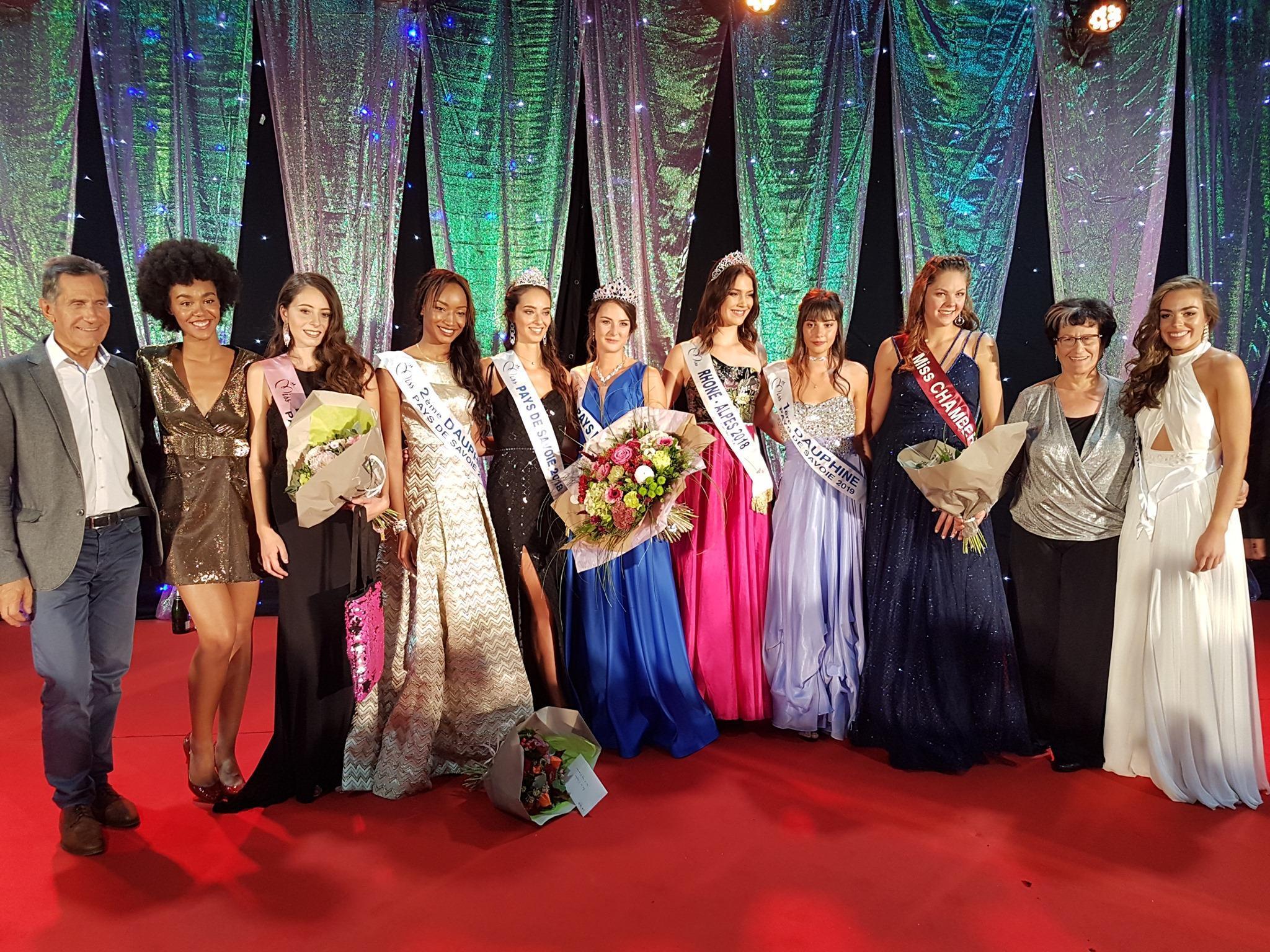 Dix candidates étaient en lice pour l'élection de Miss Pays de Sabvoie 2019, dimanche 29 septembre 2019. (photo Facebook / Comité Miss Pays de Savoie)