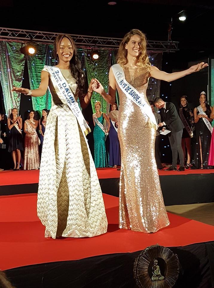 Aminata Keita, deuxième dauphine Miss Pays de Savoie. (photo Facebook / Comité Miss Pays de Savoie)