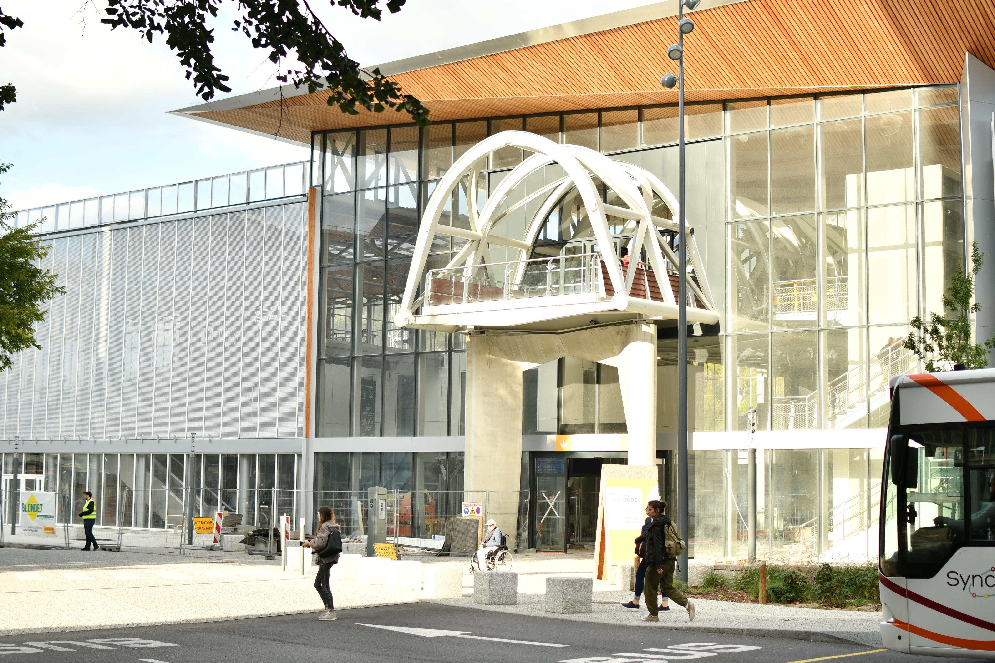 (PHOTOS) Chambéry : le nouveau pôle multimodal va transformer la vie des habitants