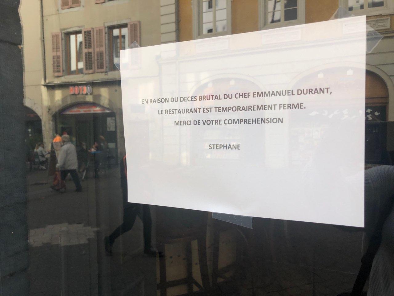 Chambéry: une cagnotte pour venir en aide à la femme du cuisinier assassiné