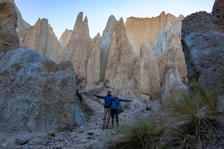 Clay Cliff est une zone faite de monticules de roches impressionnantes  !