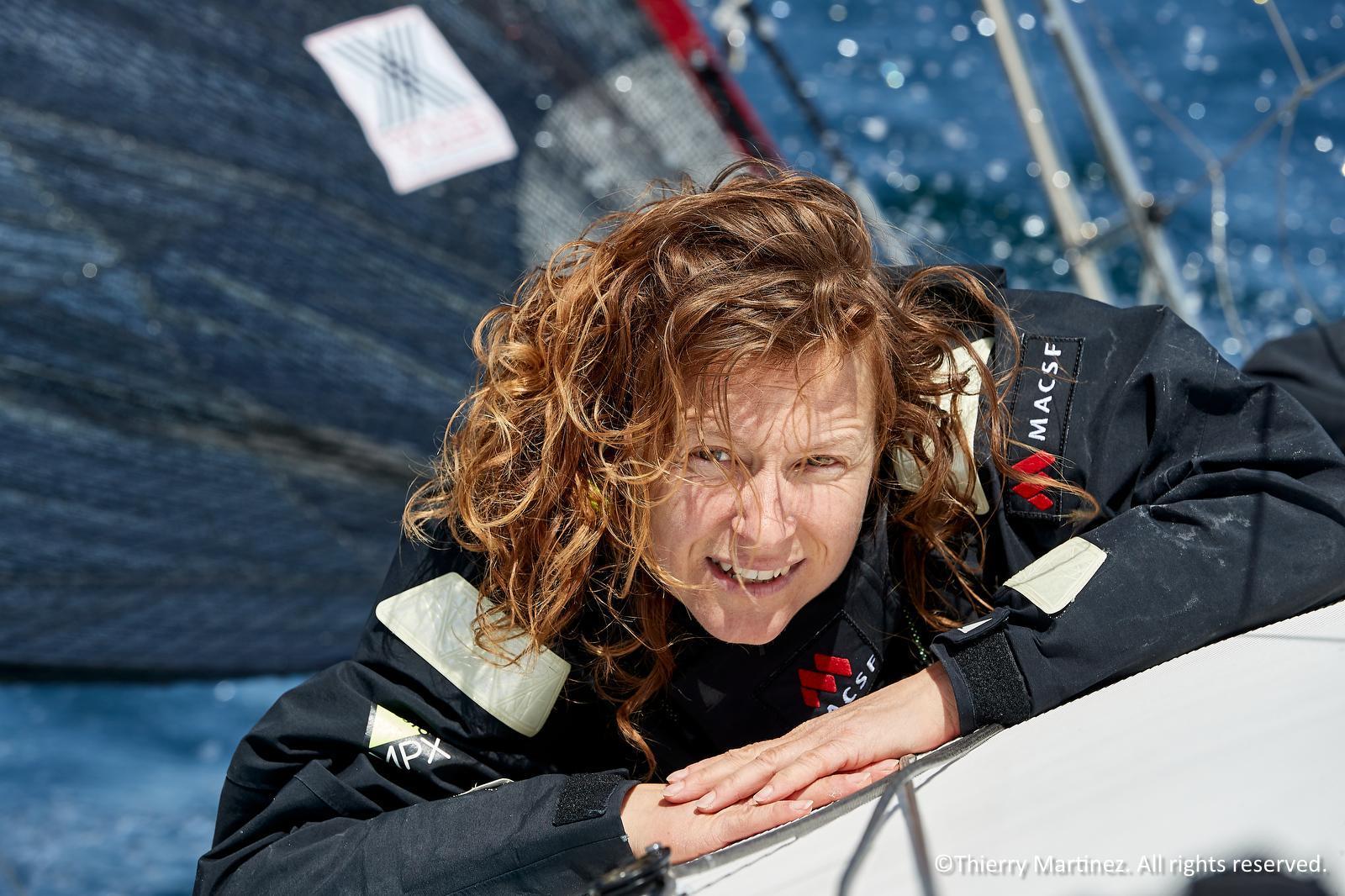 Isabelle Joschke a passé toute son adolescence dans le Pays de Gex, avant de devenir skipper professionnelle. (Crédit photo : Thierry Martinez)