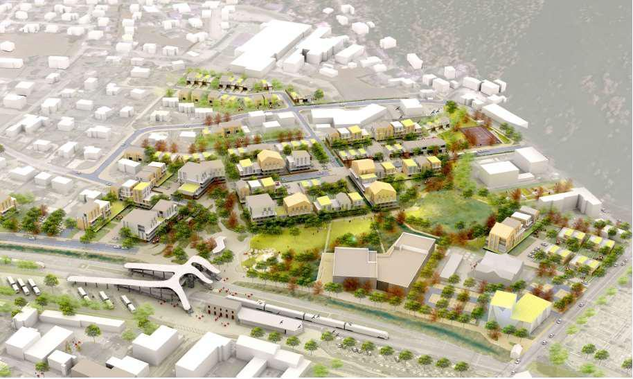 Écoquartier de Cluses: dix ans pour transformer le quartier de la gare