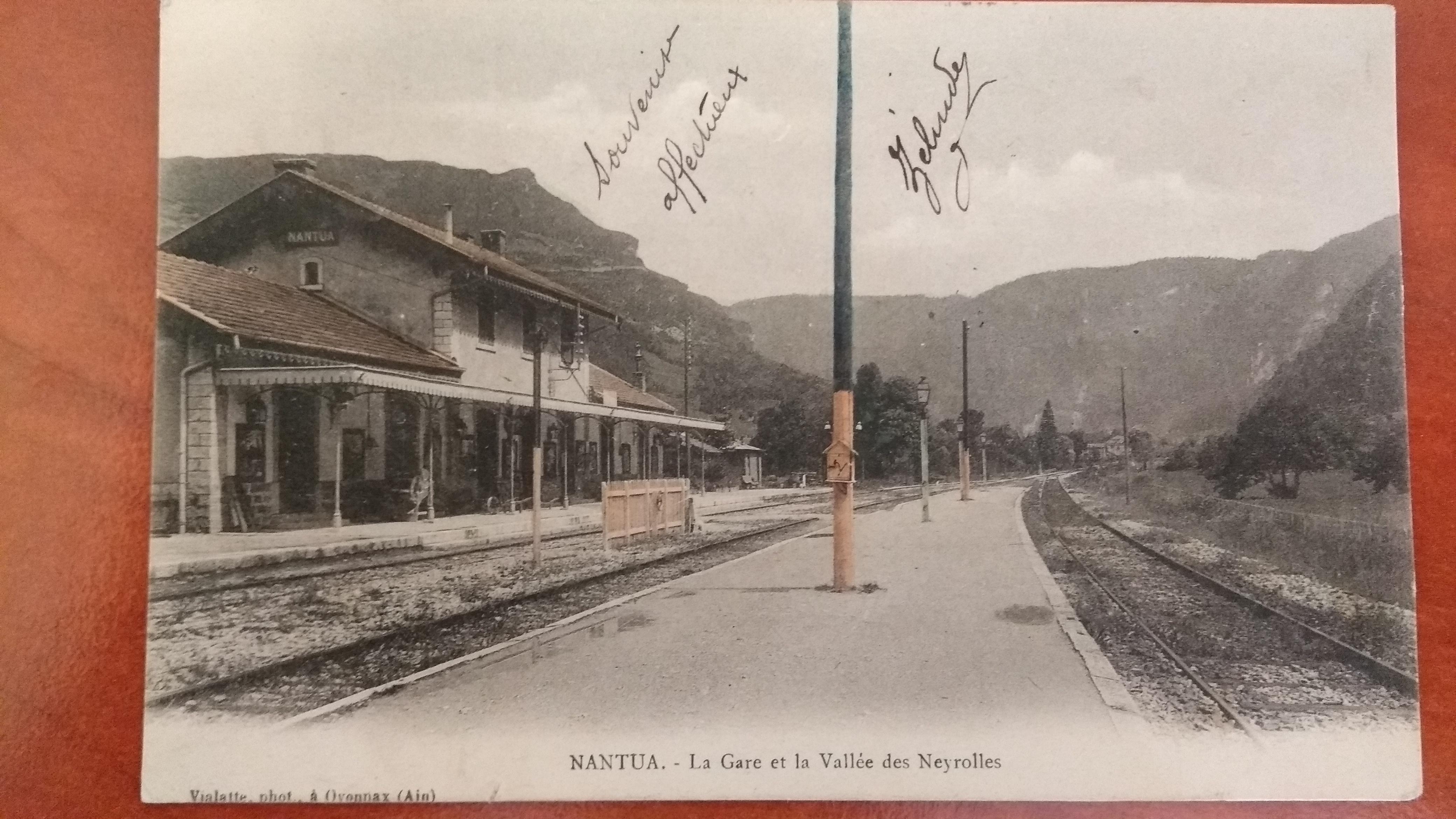 La gare a fermé définitivement en 1990.