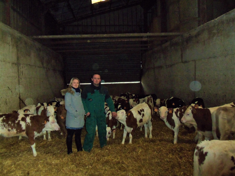 Le lait représente 30 % du chiffre d'affaires du Gaec Pierre d'En Haut.