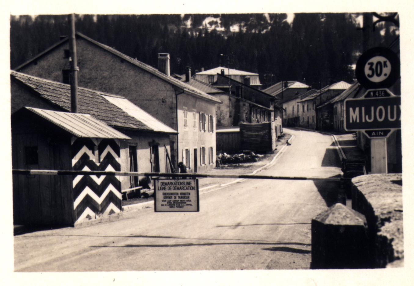 La même à Mijoux, toujours sur la Valserine.