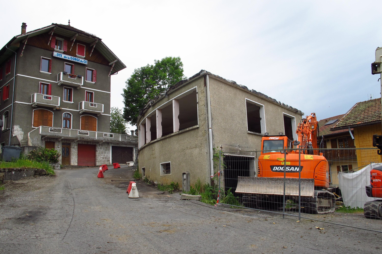 Après huit semaines de travaux, la route de Morsullaz a été sécurisée, au Mont-Saxonnex.