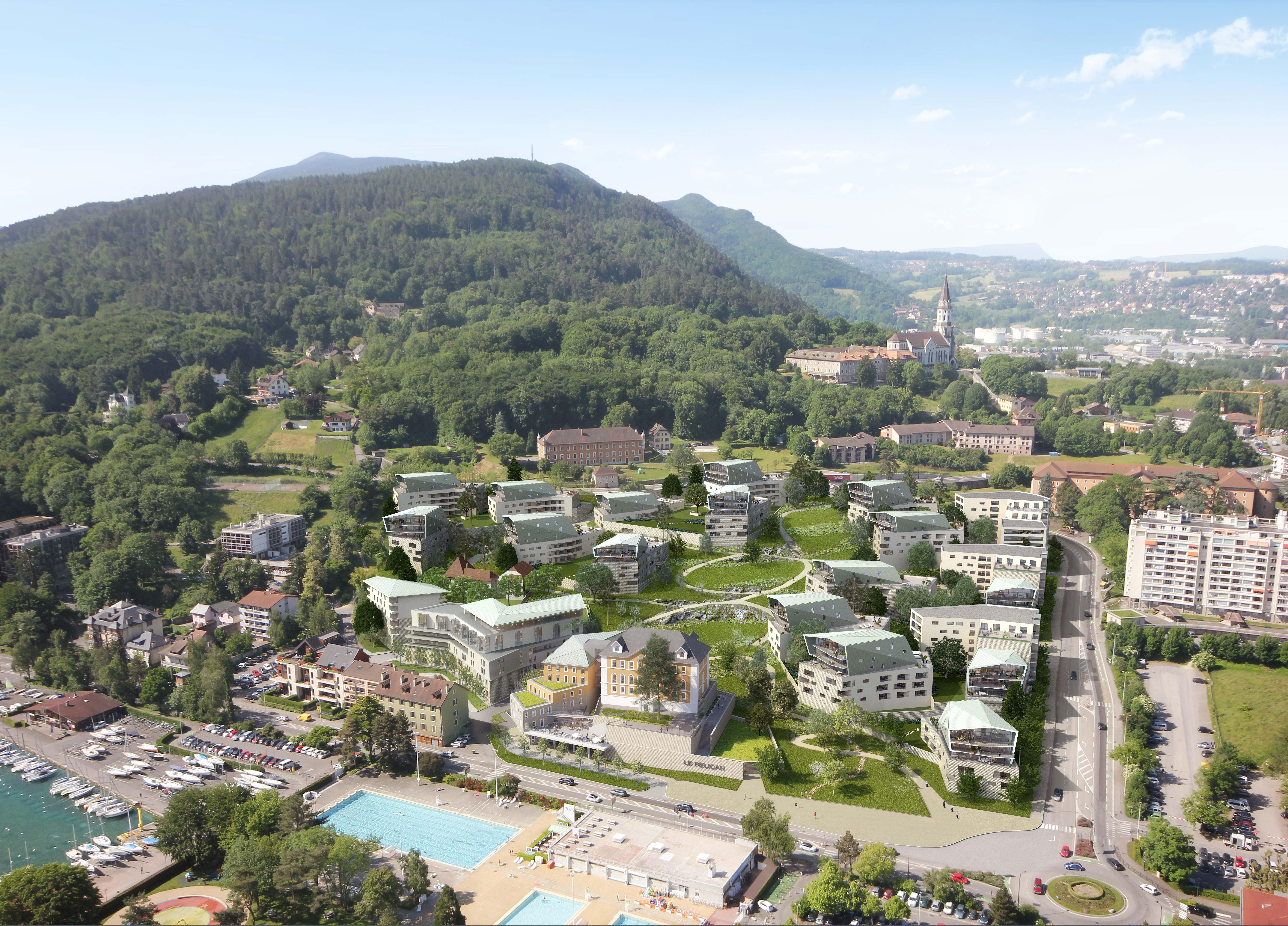 (PHOTOS) Annecy : un hôtel quatre étoiles construit à l'intérieur des anciens hospices