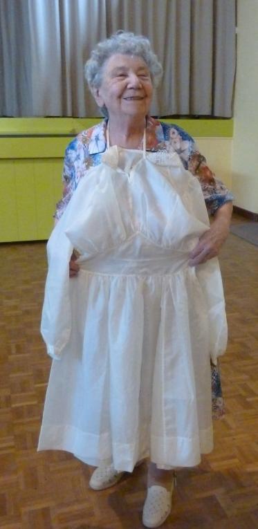 Nantua : elle fait don de sa robe de mariée… au musée de la Résistance