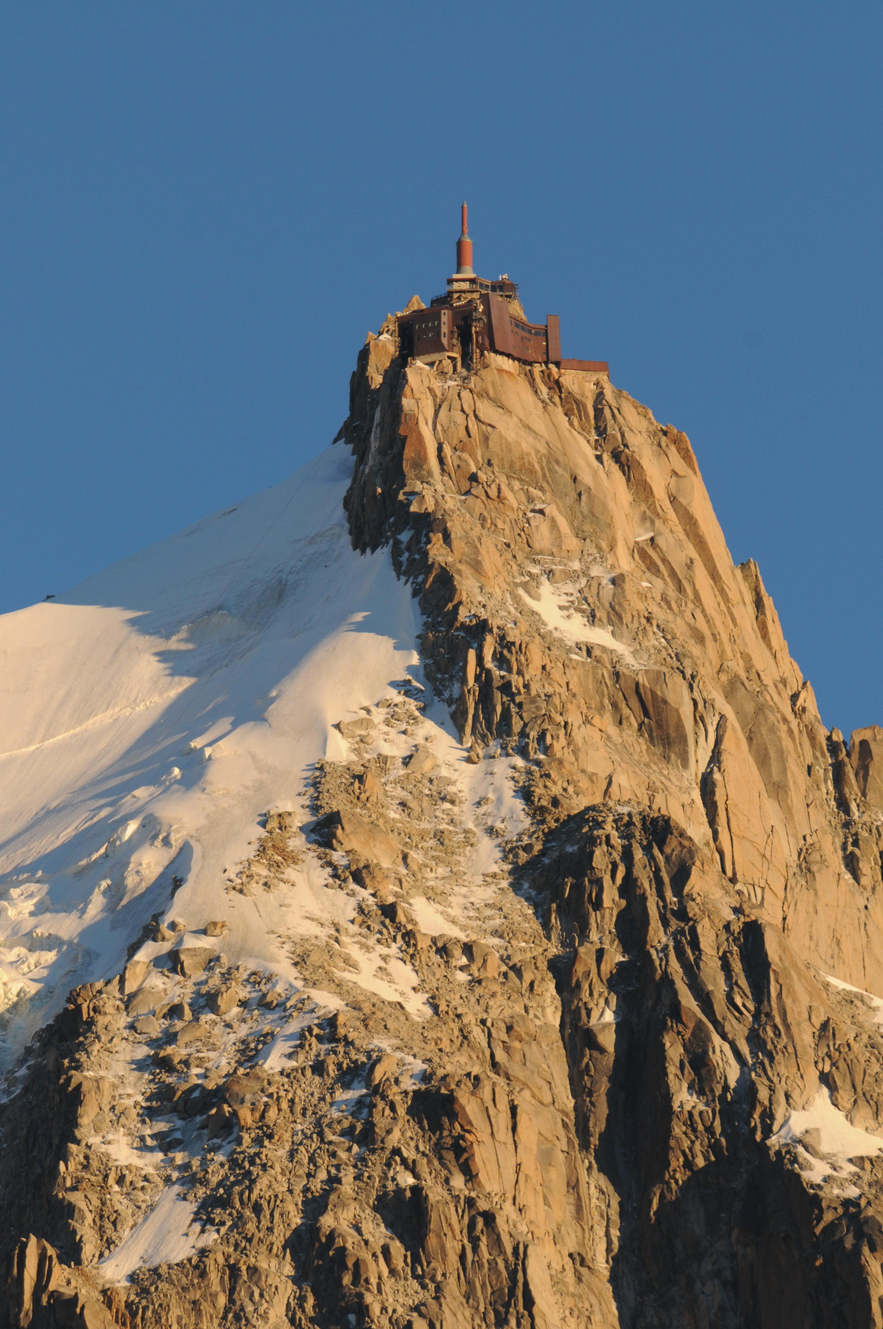 Aiguille du Midi © J.BOZON