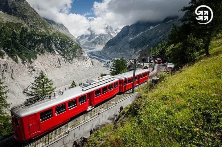 Train du Montenvers © F. BODET