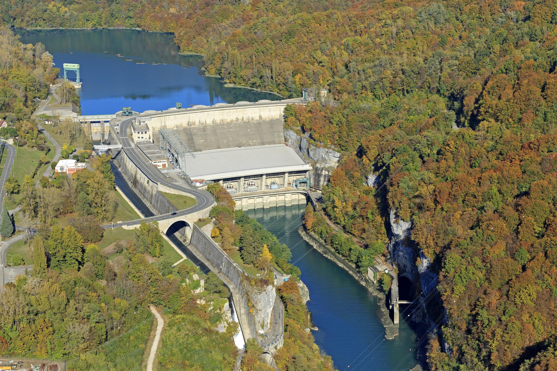 Injoux-Génissiat : le barrage, un géant sur le Rhône