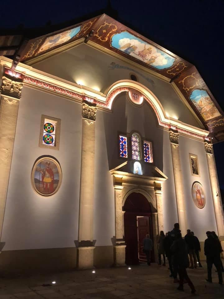 Saint-Gervais-les-Bains: l'église primée pour sa mise en lumière
