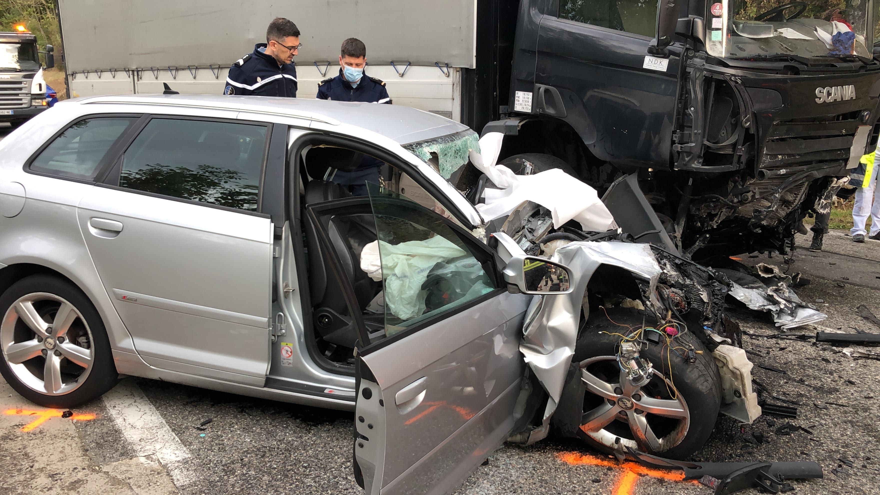 La gendarmerie devra déterminer les circonstances de l'accident.