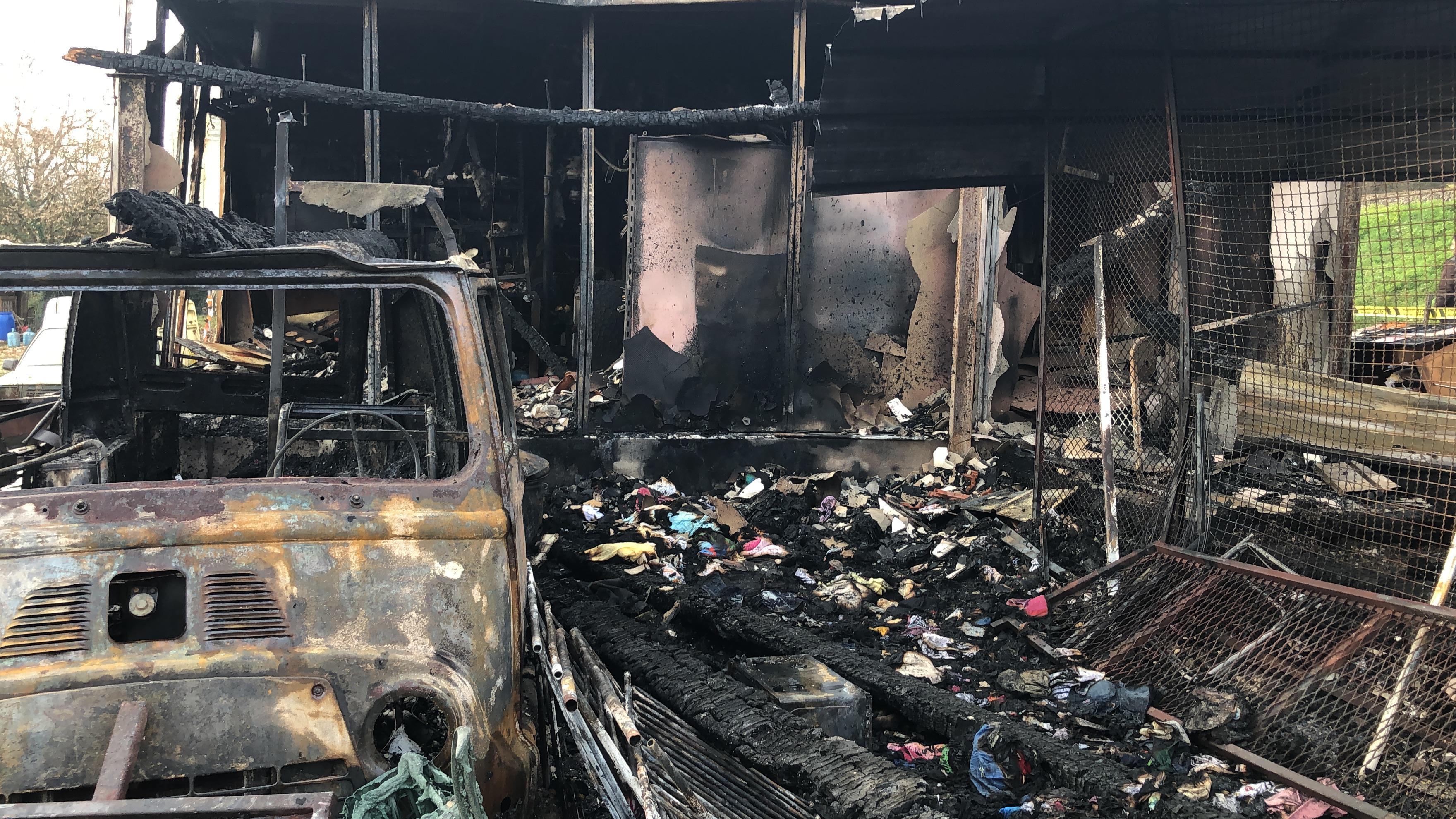 Gros dégâts dans les locaux d'Emmaüs