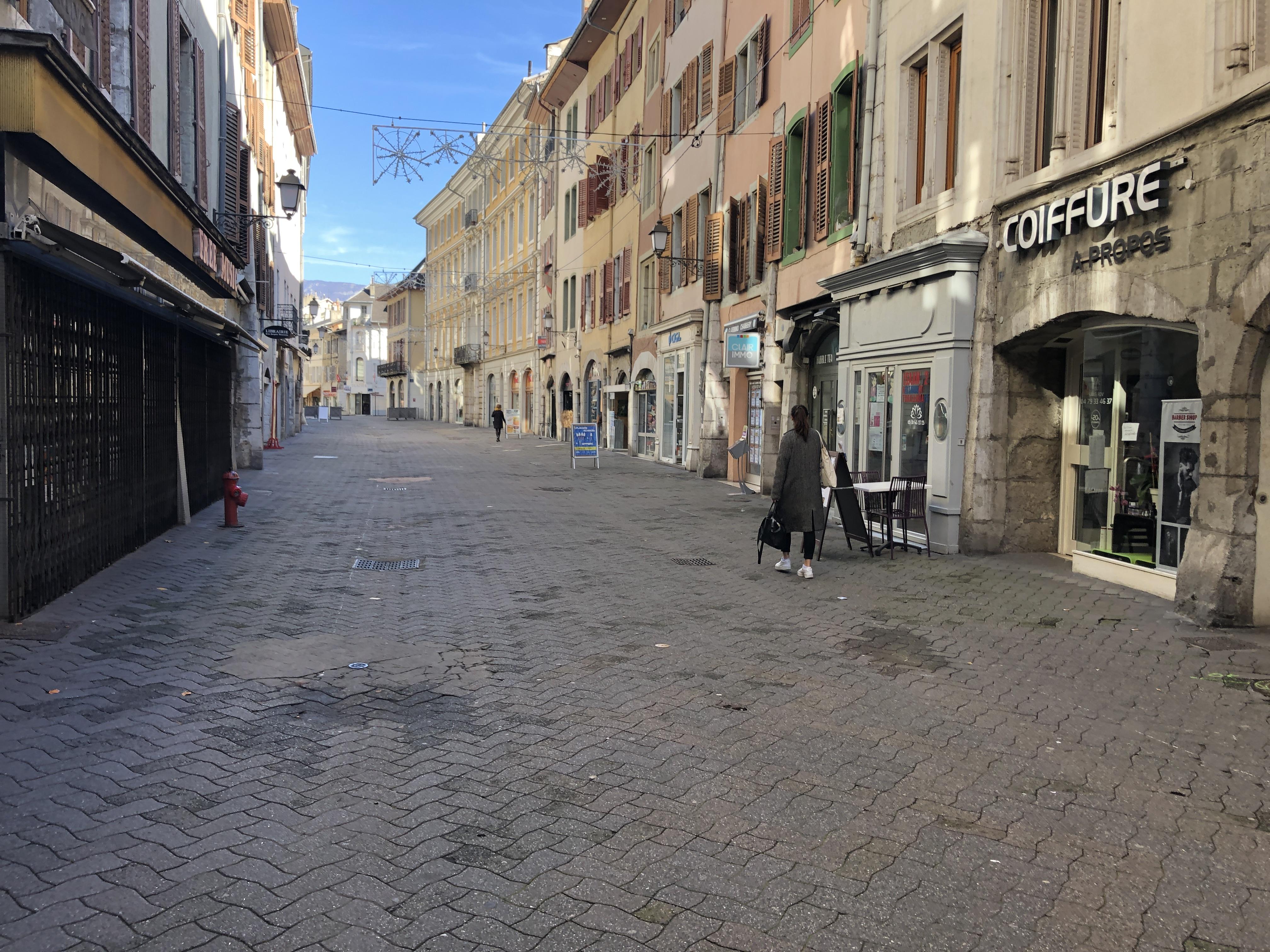 Les commerces installés dans les murs de la Ville ne paieront pas leurs loyers du mois de novembre.
