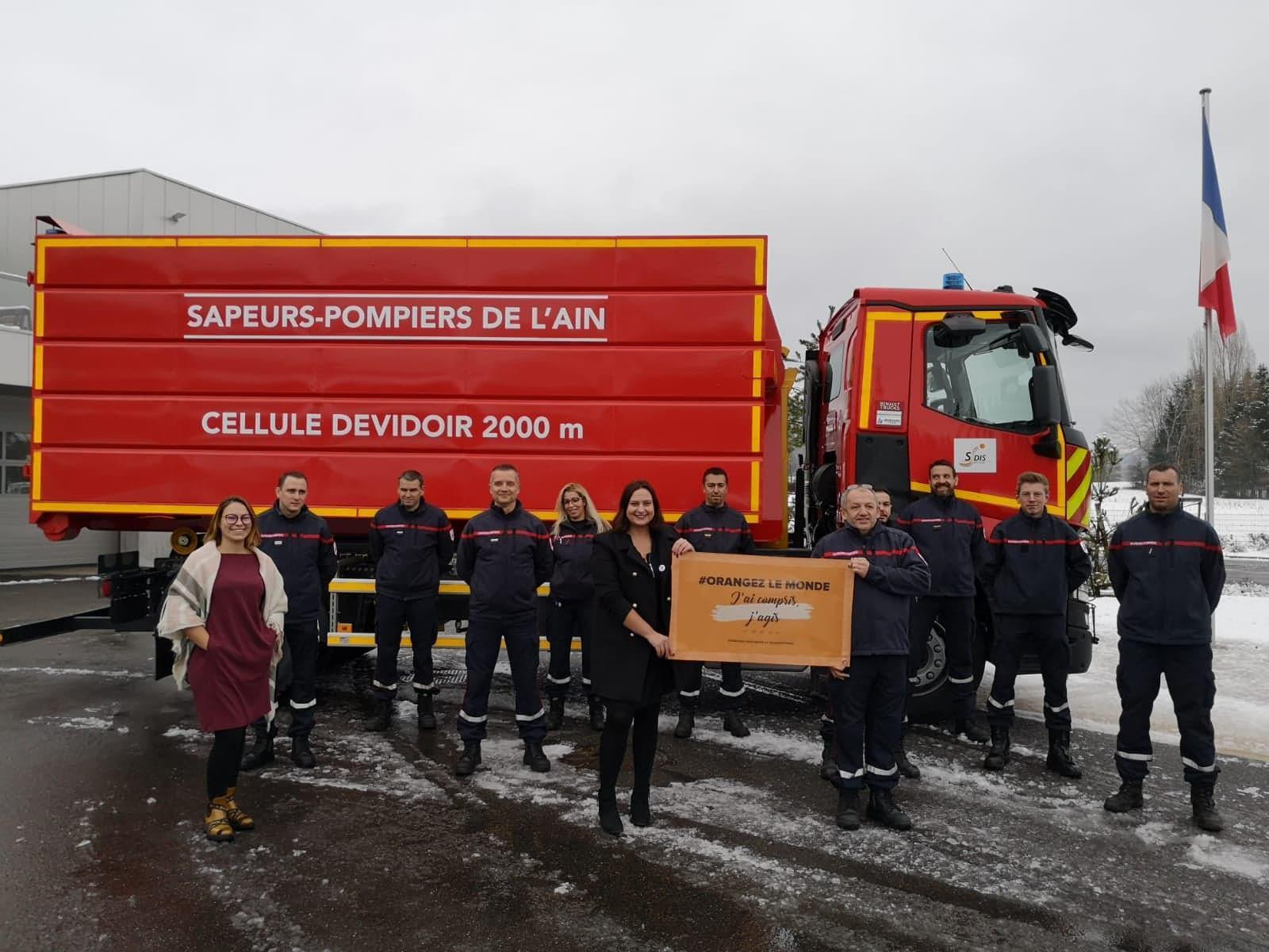 Les pompiers de la caserne Gex-Divonne ont répondu présents.