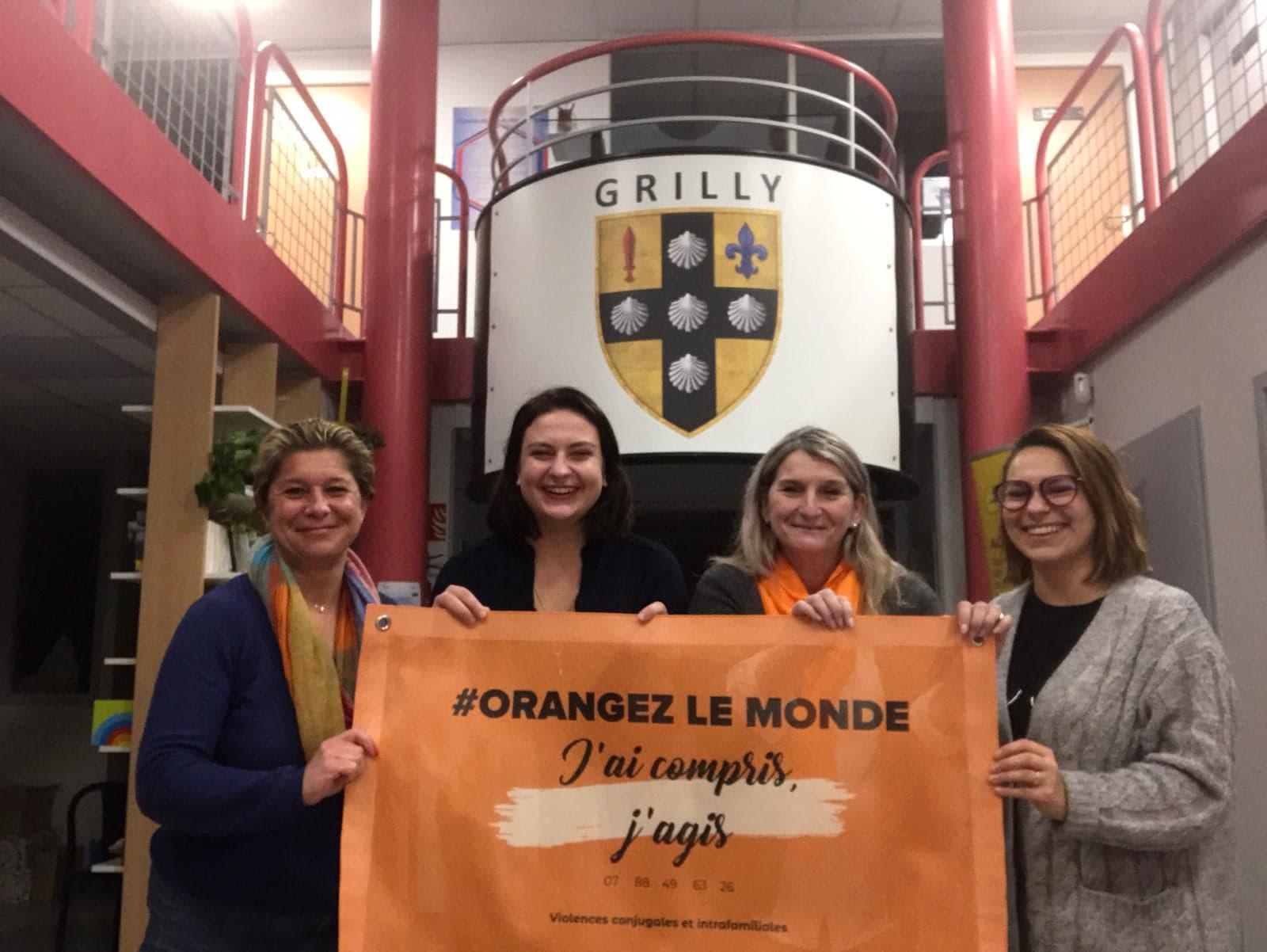 L'association J'ai compris, j'agis «orange» le Pays de Gex