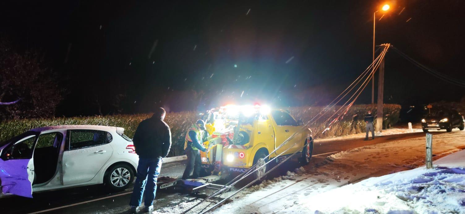 Saint-Paul-en-Chablais : trois blessés dans deux accidents